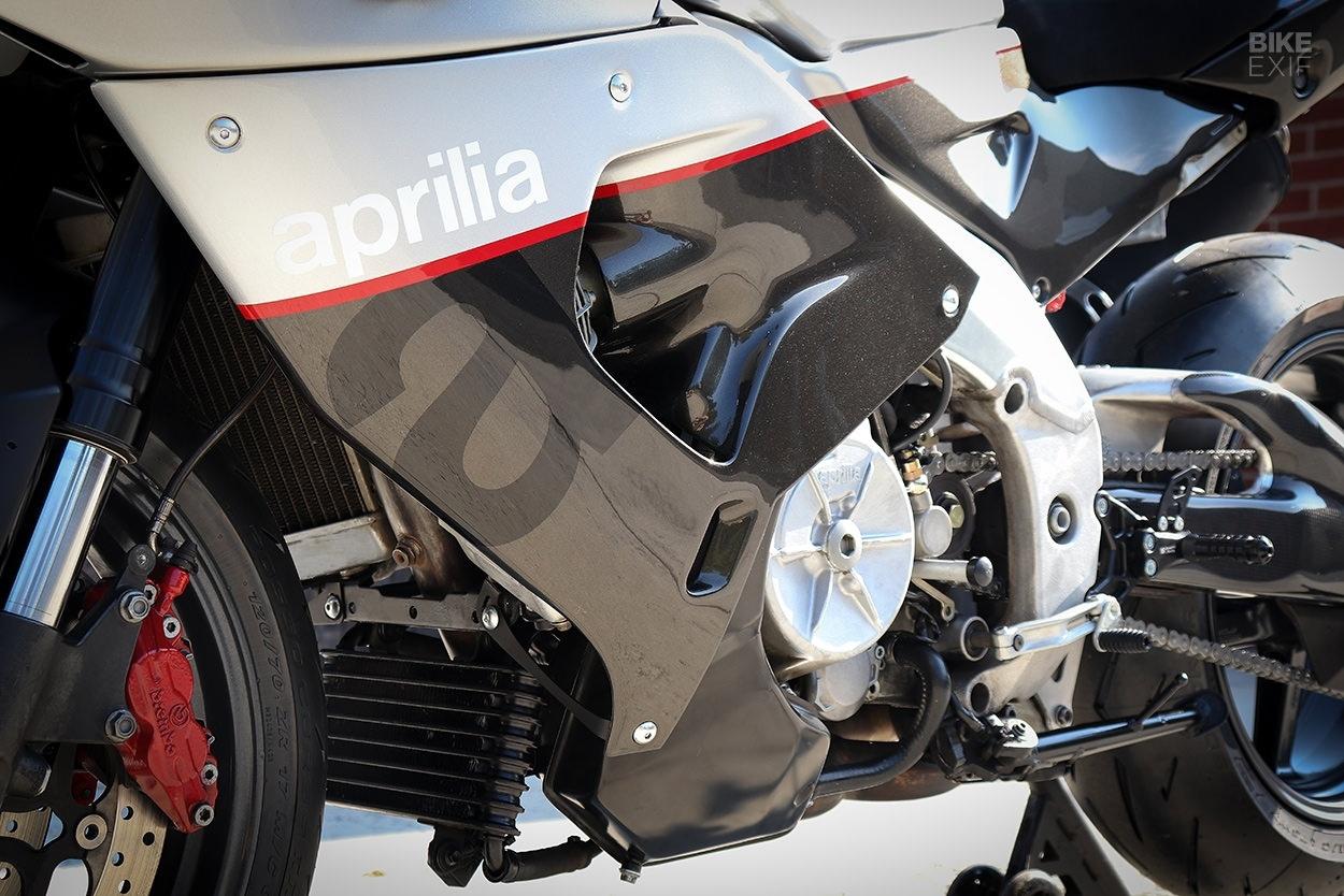 Jett Design: кастомный классический спортбайк Aprilia RSV Mille
