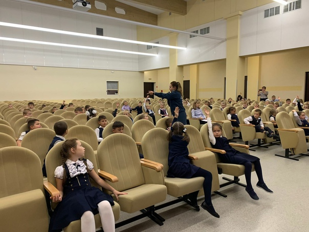 Сегодня в Кудровском центре образования был проведен урок по безопасности для учащихся начальных классов