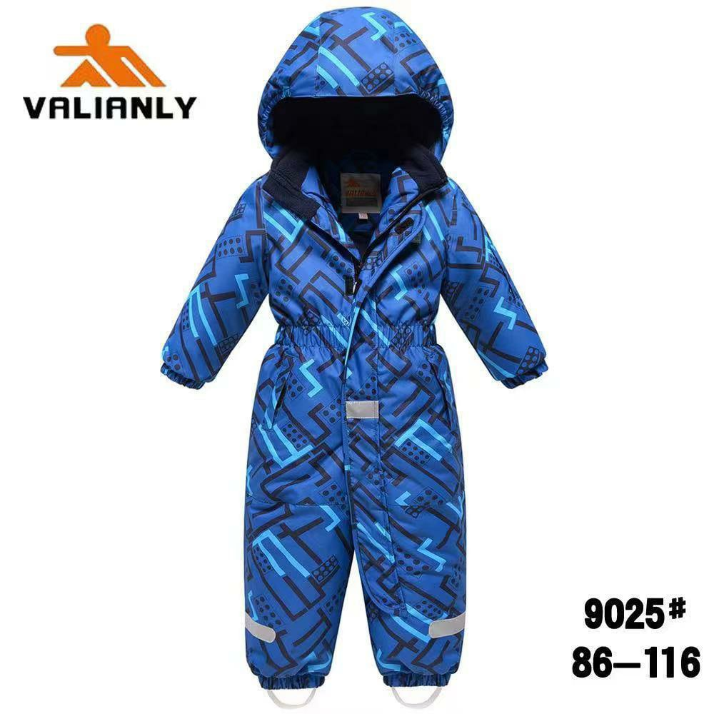 Зимний комбинезон Valianly 9026 синий