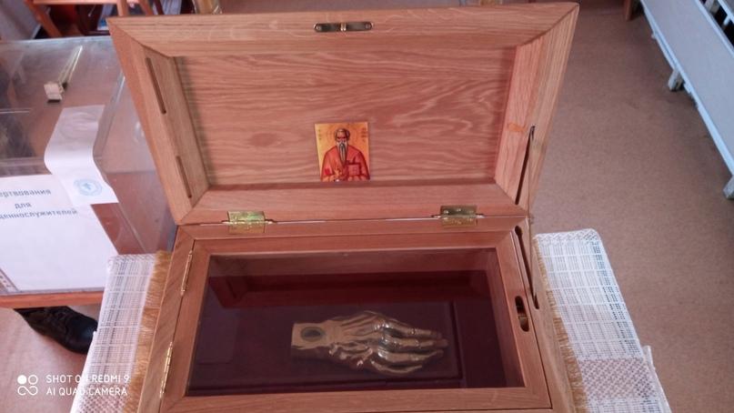 В Челябинск привезли мощи святого Харалампия., изображение №3