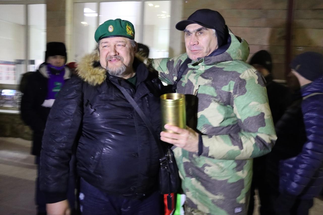 В Пермь доставлена земля с 12-й заставы
