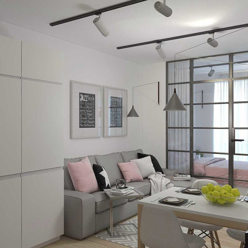 Проект квартиры 36 кв.