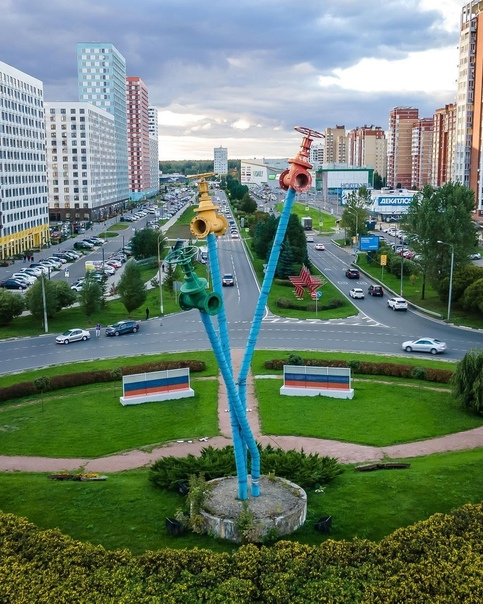 Памятник Мытищинскому водопроводу был открыт 3 сен...