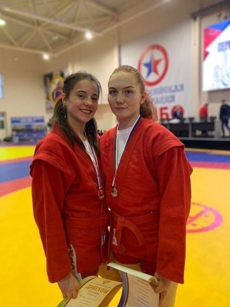Анастасия Матвеева завоевала серебро на первенстве...