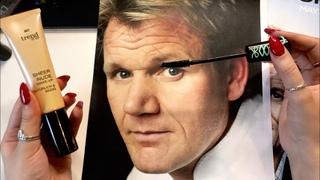 ASMR Putting Makeup on Gordon Ramsay