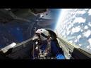 Полёт Российского самолёта МиГ-29 в СТРАТОСФЕРУ на высоту 16800 метров . Красота! Смотрет всем!