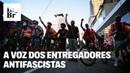 Conheça Paulo Lima o entregador de aplicativo antifascista que organiza a categoria