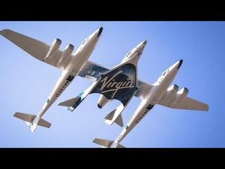 Highlights From Richard Branson's Virgin Galactic Flight Into Space.