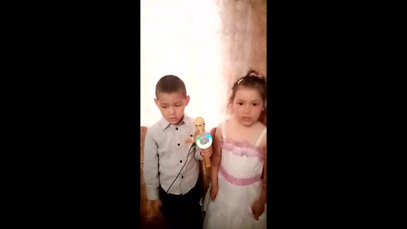 Курмангуловы Вадим и Галима - песня Әсәй,бәпес aлып ҡайт