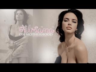 Adriana lima on motherhood (rus sub)