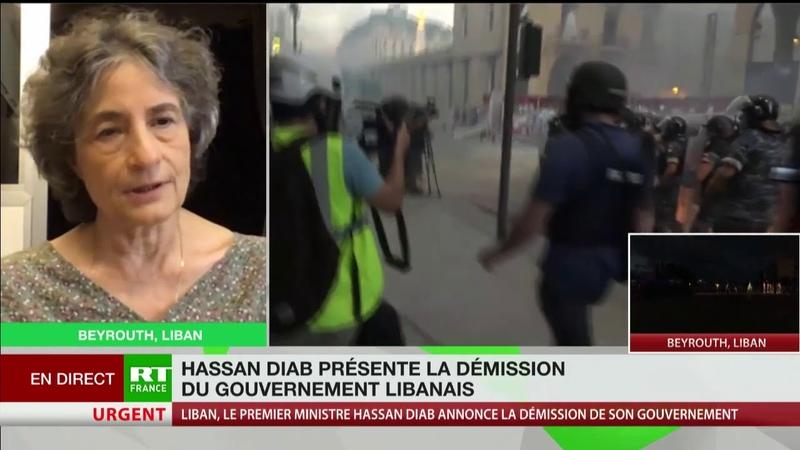 Les mots du président français ont affaibli le gouvernement libanais estime Lina Murr Nehmé