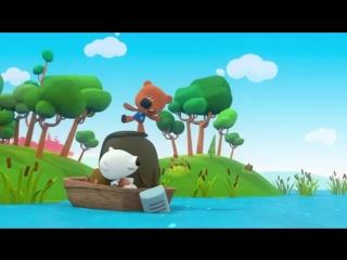 Ми-ми-мишки - Большое приключение Веселые мультфильмы про медвежат