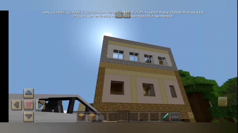 Minecraft Строим семейный дом 1