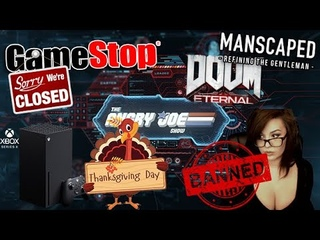 AJS News - Xbox Series X on Thanksgiving?, Doom.EXE, Gamestop Refuses to Close, Kaceytron Banned!