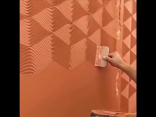 Как сделать фактурную стену