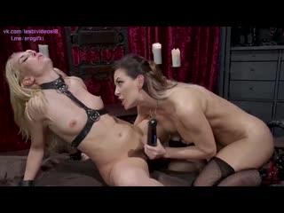 Aaliyah Love, Cherie DeVille - Femdom LezDom, lesbian anal porno