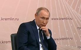 """Владимир Путин о """"группах смерти"""": """"Что за уроды этим занимаются"""""""