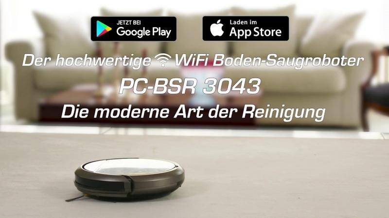 PC BSR 3043 Boden Saugroboter von ProfiCare
