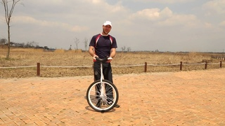 How to free mount a unicycle.