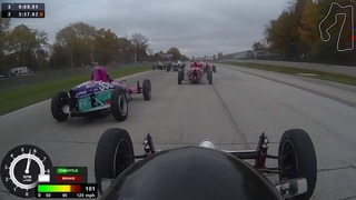 2020 Formula Vee SCCA Road America Runoffs race - two pace laps so race starts around 11 minutes