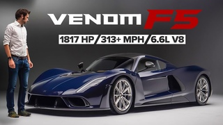 NEW Hennessey Venom F5: America's Latest Hypercar Sounds Like THUNDER | Carfection 4K