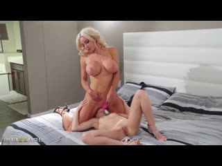 Nicolette Shea, Scarlett Sage - Milf [2020, All Sex, Blonde, Tits Job, Big Tits, Big Areolas, Big Naturals, Blowjob]