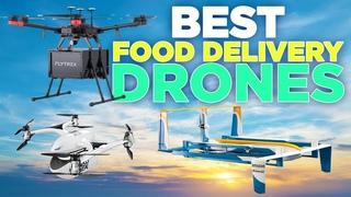 Top Food Delivery Drones   Amazon Prime Air, Flytrex, & EHang Falcon
