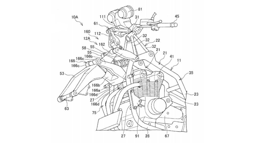 Другие мотоциклы Honda могут получить подвеску Gold Wing