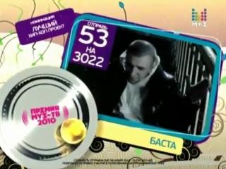 Премия Муз-Тв 2010 (Номинация Лучший Хип-Хоп проект)