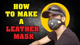 [Leather Craft] [DIY] How to Make a Leather Mask - Free Pattern