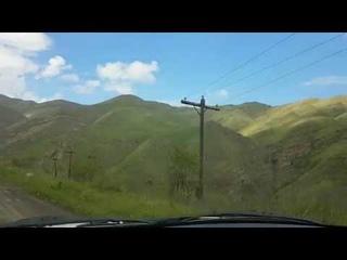 Даргинская песня.  по дороге из Ицари. Дагестан