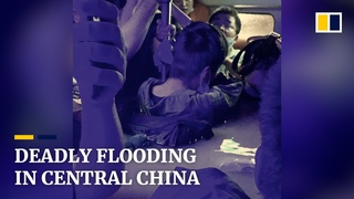 Heavy floods in central China kill at least 18 people, force 200,000 from their homes