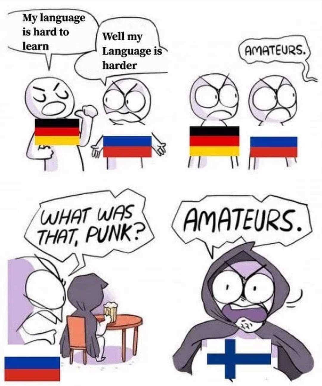 Вкратце о финском языке