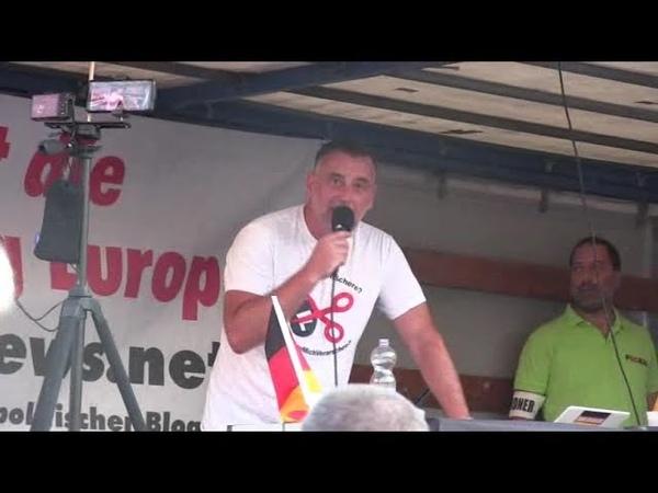 Sehr gute Rede von Lutz Bachmann. PEGIDA Dresden 26.08.2019