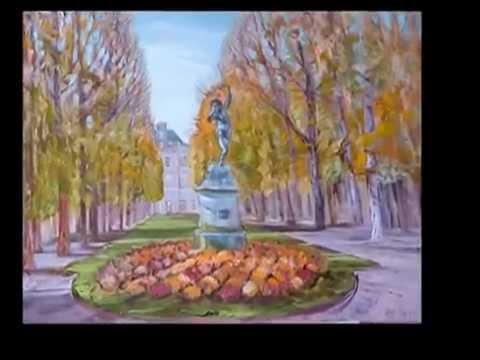 Liudmila Bolotskaya Людмила Болотская Art shopping 2014 Paris. Carrousel du Louvre