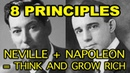 8 Neville Goddard Principles related to Think and Grow Rich Neville Goddard Napoleon Hill