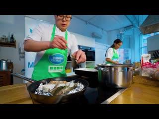 Промо-ролик: готовим блюда из рыбы