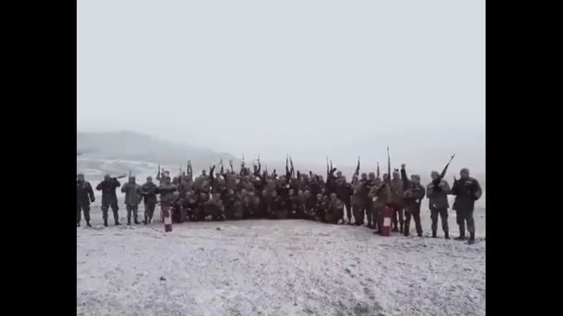 Азербайджанская армия в Кельбаджаре 25 ноября