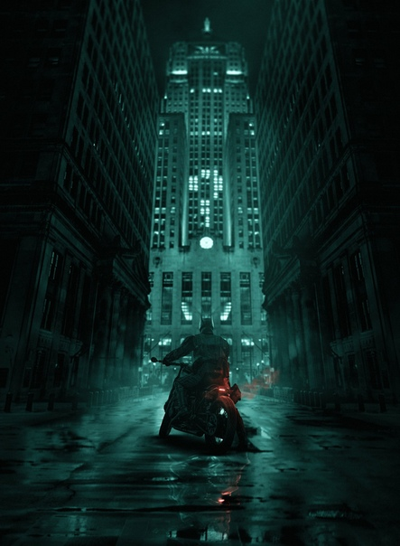 Арты «Бэтмена» Мэтта Ривза от BossLogic