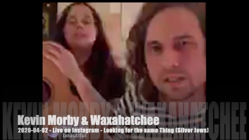 Kevin Morby Waxahatchee Looking for the same Thing Silver Jews 2020 04 02 On Instagram