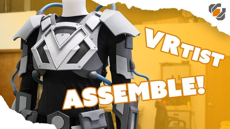 Armor Painting and Assembly VRtist Jazza Collab Part 2