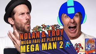 RETRO REPLAY - Nolan and Troy Mega Fail at Playing Mega Man 2