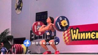 Zoe Smith (58) - 90kg Snatch & 118kg Clean