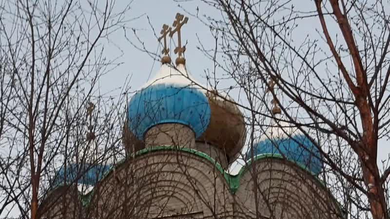 Колокольный звон и молитва ко Господу во время вредоносного поветрия 28 11 20 г Свято Никольский кафедральный собор г Мурманск