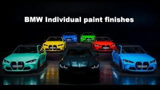 2021 BMW M3 Sedan and M4 Coupé Individual paint colors  G80 G82 