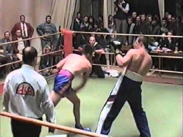 12 Алмаз Гисмеев Россия Адам Ватт Австралия Профессиональный бой 1994 год Мурманск