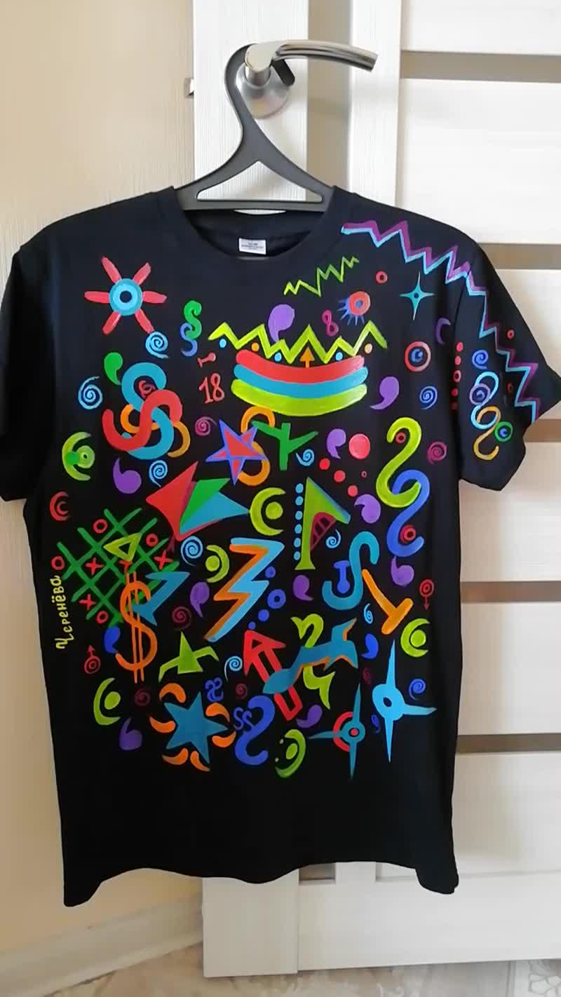 Роспись футболки(парные)