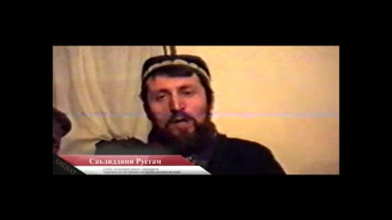 Саъдиддин Рустамов вақте ки ман дидам ҳеликуптерҳои давлатӣ дар қисмати болои Ғарм