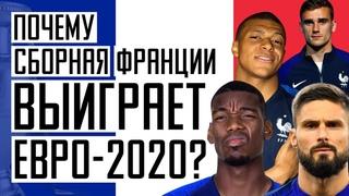 Кто победит на Евро 2020? Сборная Франции станет чемпионом. Новости футбола. Футбол и кубок УЕФА.