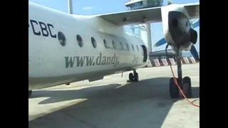 THE SIGHT & THE SOUND 6/6 : Flying Dandy AN-24 LZ-CBC inflight documentary from Bratislava to Sofia